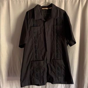 Havanera Co. Dress Shirt Guayabera